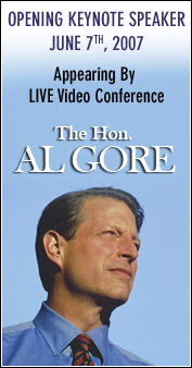 AL Gore -Opening Keynote Speaker June 7th 2007.